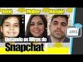 COMO ATIVAR E USAR AS Lentes do Snapchat + Filtro de bebe QUE NÃO Aparece - CanalJMS