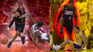 The Story of How Allen Iverson Learned His Deadly Crossover