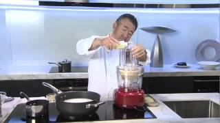 Electrolux Cooking Ambassador, Tetsuya Wakuda demonstrates how to c...