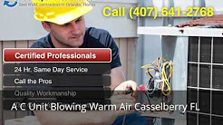 A C Unit Blowing Warm Air Casselberry FL (407) 641-2768