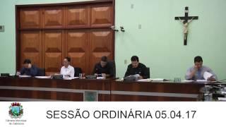 Sessão da Câmara 05.04.17