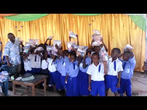 Uganda children get gifts
