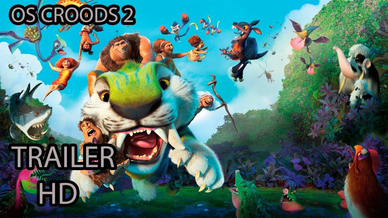 Download OS CROODS 2: Uma Nova Era - Trailer - Oficial - HD - Dublado - Dreamworks