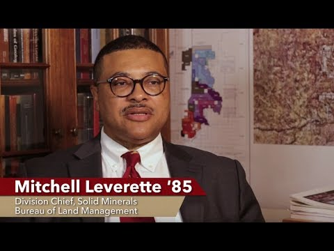 Mitchell Leverette '85 – Division Chief, Solid Minerals, Bureau of Land Management