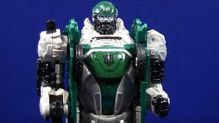 TRANSFORMERS 4 AGE OF EXTINCTION QUICK DRAW AUTOBOT HOUND TOY REVIEW