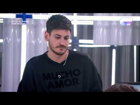 "Cepeda canta ""Vencer al amor"" en la toma de tonos | OT 2017"