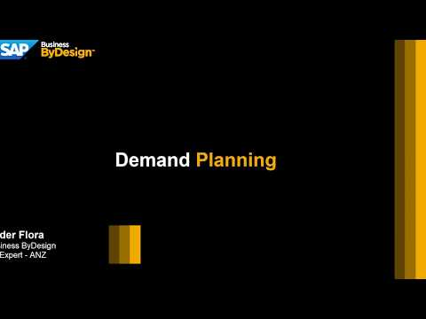 sap-business-bydesign---demand-planning