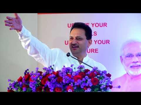 "Speech of Sri Anantkumar Hegde, Hon'ble Union MoS-SD&E in "" Skillathon"" at madikeri"