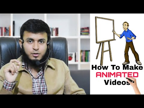 How To Make Animated Videos For Free | Whiteboard Animation | Mohd Farhan