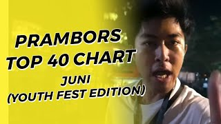 PRAMBORS TOP 40 JUNI (YOUTH FEST 2019 EDITION)