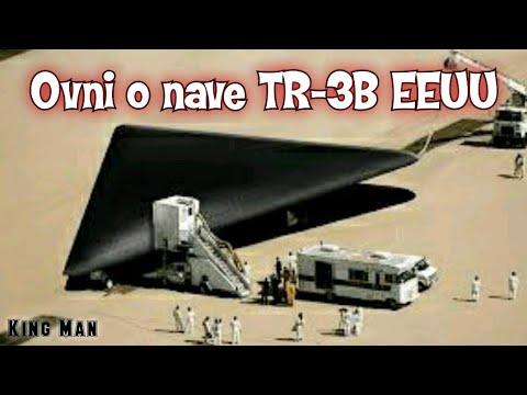 Impactante OVNI o nave TR-3B grabada en EEUU y vista por cientos de testigos