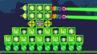 Bad Piggies - SILLY GREEN TANK INTERESTING GREEN INVENTIONS!