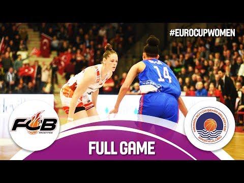 Carolo Basket (FRA) v Mersin (TUR) - Full Game - EuroCup Women 2017-18