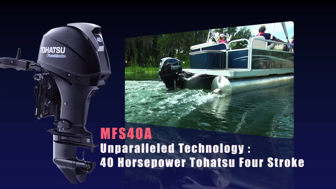tohatsu - new 40 hp 4 stroke