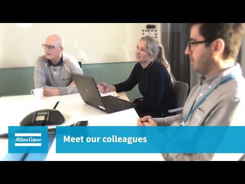 A career at Atlas Copco - Human-machine interface programmer