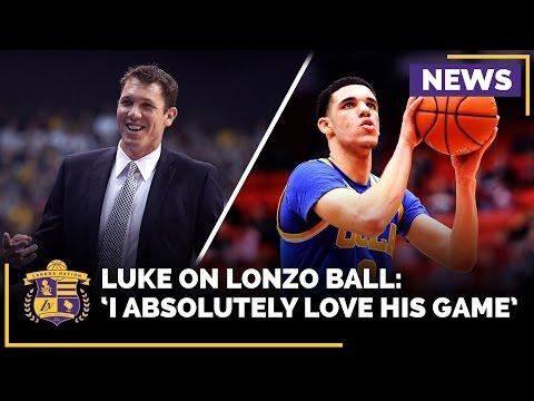 Luke Walton On Lonzo Ball & LaVar Ball's Influence