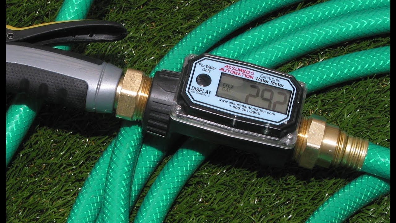 Garden Hose Water Meters YouTube