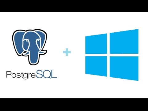 How to Install PostgreSQL 9.6 & pgAdmin 4 on Windows 10