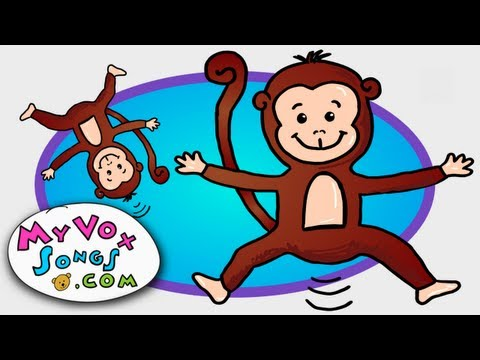Five Little Monkeys Jumping On The Bed - Nursery Rhymes By MyVoxSongs