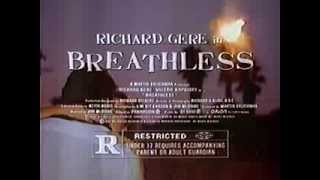Richard Gere in Breathless 1983 TV trailer