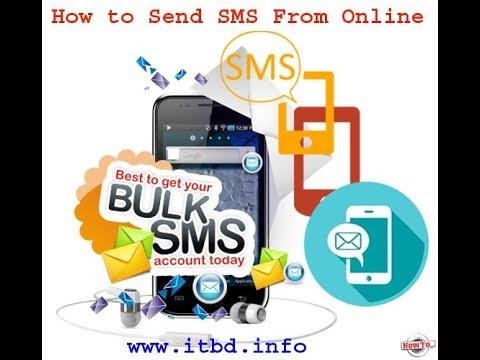 How to Send Bulk SMS using Internet