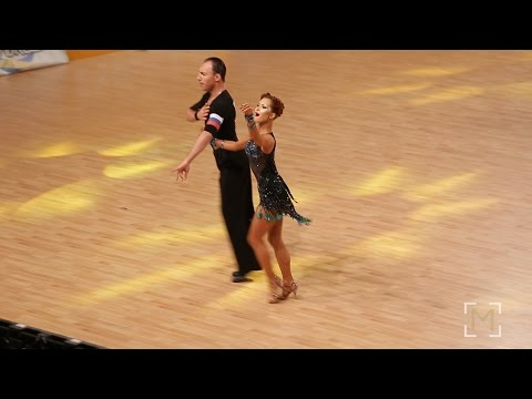 Fedor Poliansky - Dina Akhmetgareeva   European Clubs Cup 2017 Cambrils    Adult LAT - F1 S