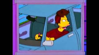 Conductores coléricos Los Simpsons (Rage Road)