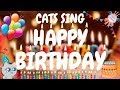 Cats Sing Happy Birthday Song | Cats Singing Song