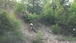 Maniac on Dirt Bike