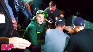 Justin Bieber Runs Over Paparazzi, Handles It Like a CHAMP (Video) thumbnail