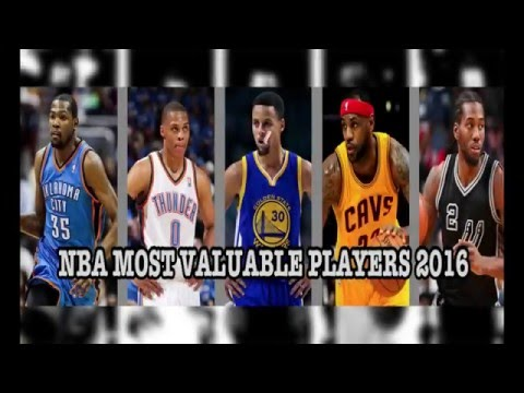NBA Most Valuable Players 2016
