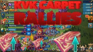 KvK Carpet rallying an 800M in FURY Lords Mobile