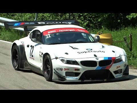 BMW Z4 GT3 4.4L V8 || 600Hp Rumbling Sound NA Monster