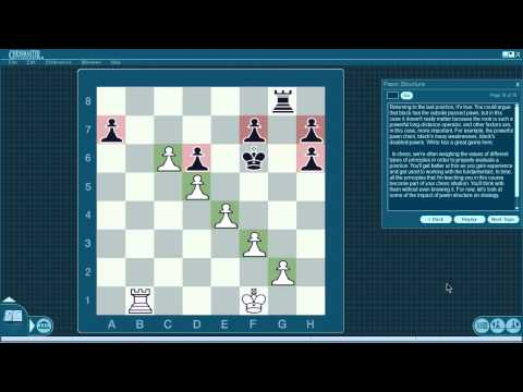 Chess Lessons. A Comprehensive Guide part 8. Pawn Structure.