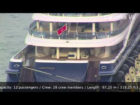 The mega yacht of Heidi Horton - Carinthia VII - Venice September 2013 - Top Luxury Yacht