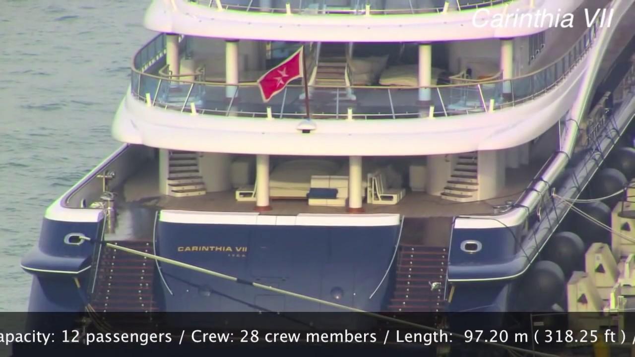 The Mega Yacht Of Heidi Horton Carinthia Vii Venice September 2013 Top Luxury Yacht