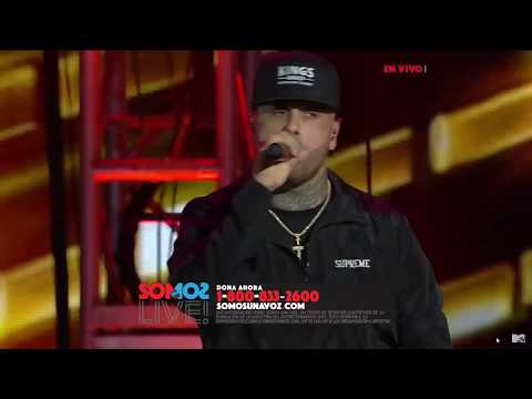 NICKY JAM - We Are One Voice   SOMOƧ LIVE!