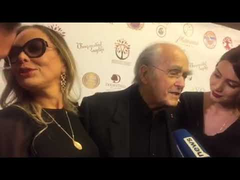 By NEWS.am STYLE. Michel Legrand and Ornella Muti about Armenia