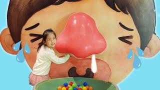 우리 몸은 어떻게 생겼을까요?!! 서은이의 인체 탐험 눈 코 입 탐험하기 양치 딸기 어린이 과학 박물관 Human Body Museum for Kids