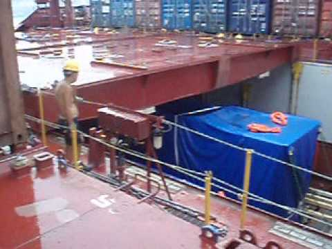 Project Cargo Operations onboard Kyoto Express