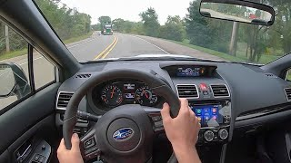 2020 Subaru WRX Series.White - POV Test Drive (Binaural Audio)