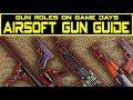 What Airsoft Gun Should I Get?Airsoft Gun Role Guide