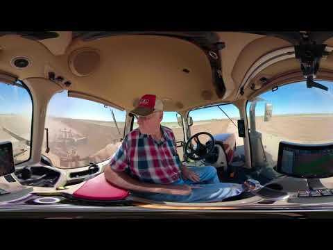Огляд 360° в кабіні нового трактора Magnum AFS Connect CASE IH
