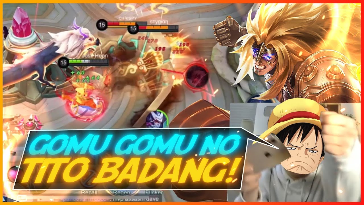 Badang Hyper Carry with new skin! | MLBB