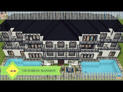 The Sims Freeplay - Victorian Mansion (Original Design)