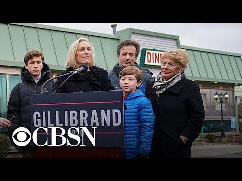 New York Senator Kirsten Gillibrand joins 2020 presidential race
