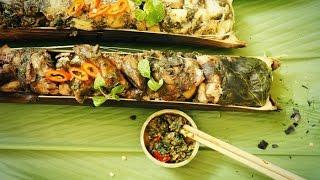 LƯƠN NƯỚNG ỐNG NỨA ( Grilled Eel In Bamboo Tube )