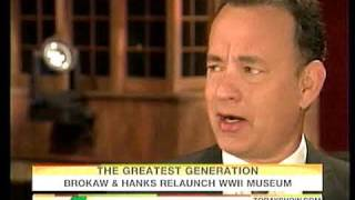 Tom Hanks and Tom Brokaw discuss The National World War II Museum in New Orleans