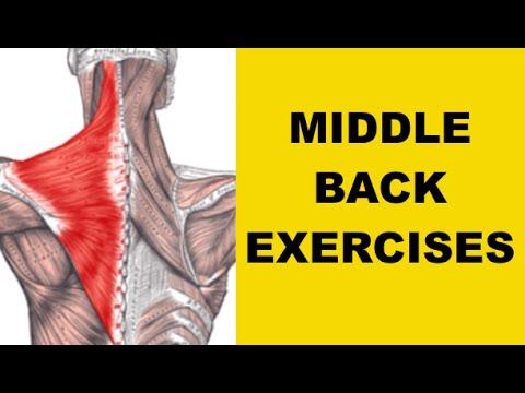 Middle Back Pain Exercises (UPPER BACK STRENGTHENING)