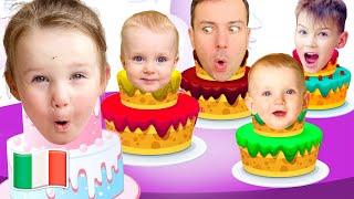 Buon Compleanno! Canzoni per bambini di Five Kids